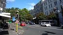 Auckland belvárosa dombos vidékre épült, sok a meredek utca.