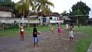 Gyakorol a falu egyetlen röplabdacsapata.