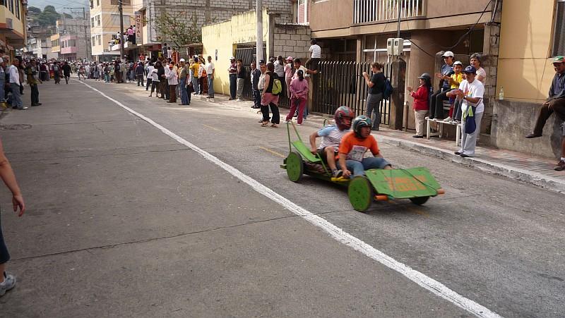 Wacky race!