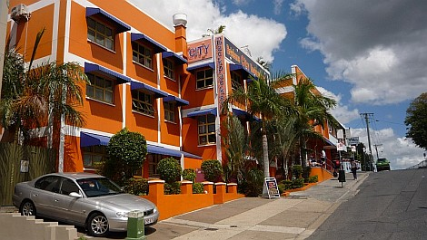 A Brisbane City Backpackers hostel - nézze meg nagyban is!