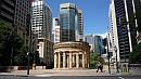 Brisbane legfontosabb háborús emlékmûve, a Shrine of Remembrance.