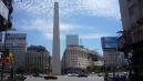 Buenos Aires egyik jelképe, az Obelisco.
