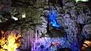 Giccses barlangi fényjáték.