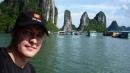 A Ha Long-öböl úszó falvainak egyike.