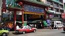 A kínai negyed legismertebb bazársora.