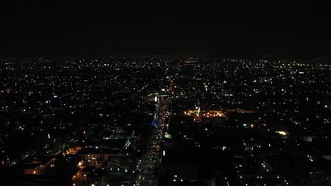 Mexikóváros fényei éjjel - nézze meg nagyban is!