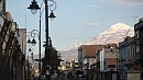 A Chimborazo csúcsa Riobamba felett.
