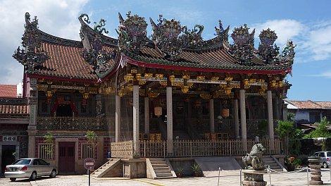 Penang egyik híres kínai klánháza, a Khoo Kongsi - nézze meg nagyban is!