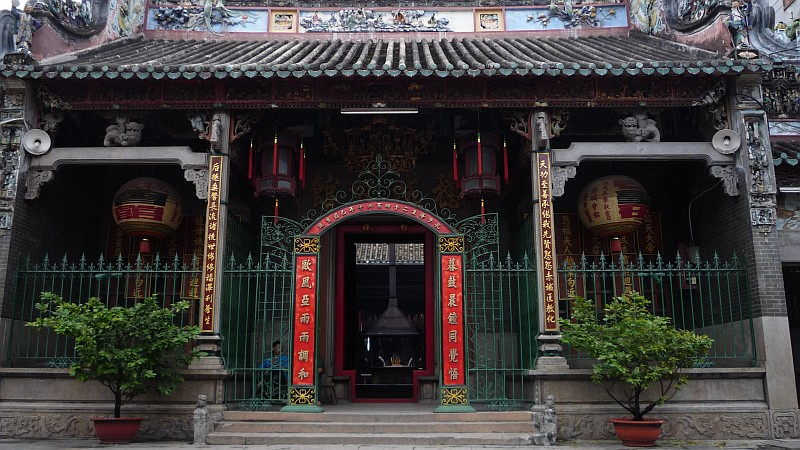 Thien Hau pagoda, Cholon
