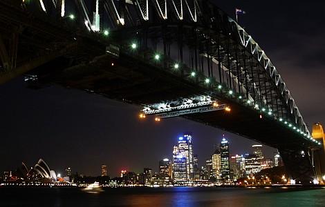 Sydney belvárosának fényei - nézze meg nagyban is!