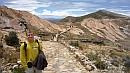 Útban az északi oldalon fekvõ inka labirintus felé.